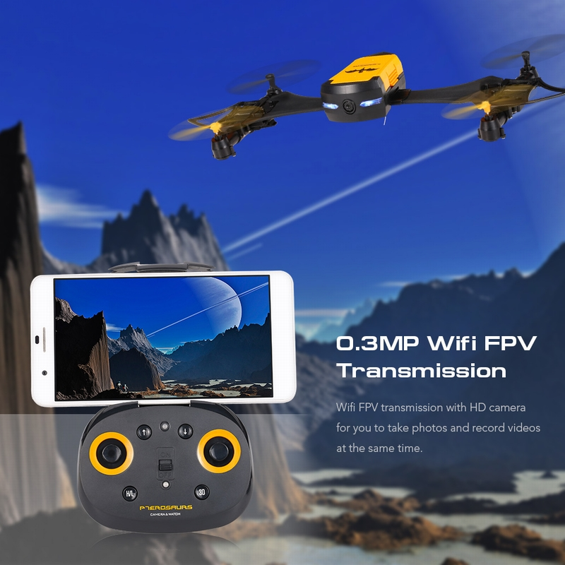 $5 Off Cheerson CX-70 Transformable Bat Drone Watch RC Quadcopter,free shipping $53.99