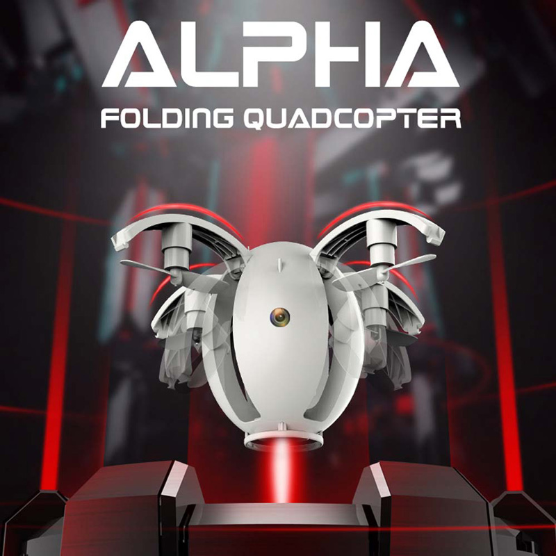 $5 Off Kai Deng K130 ALPHA Folding Transformable Egg Drone,free shipping