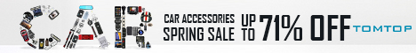 Up to 71% Off Spring Sale for Car Accessories, Video and Audio