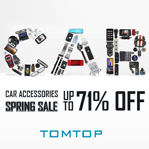 Car Accessories Spring Sale
