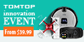 From $39.99+Over $100 Coupon Innovation Event,Expires:Oct.31@TOMTOP.com