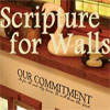 Scripture for Walls