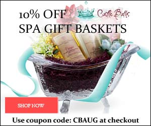 10% off spa gift baskets