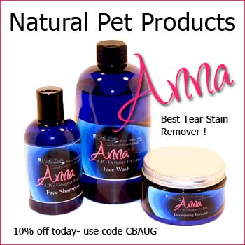 Anna Natural Pet Products -Tear Stain Remover CastleBaths!
