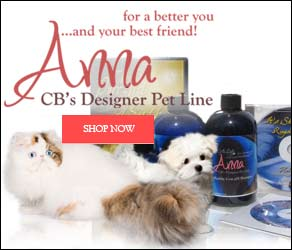 anna designer pet grooming products
