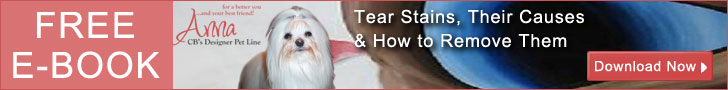 natural tear stain remover FREE e-book