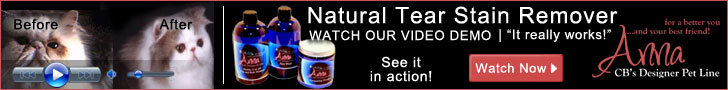 natural tear stain remover video demo