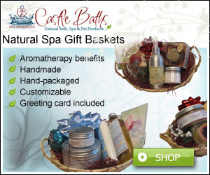 natural spa gift baskets handmade by castle baths
