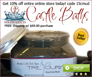 Spa Products- Bath Products - Dead Sea Products CastleBaths.com