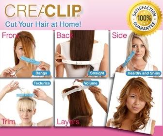 CreaClip Cut your Hair at Home