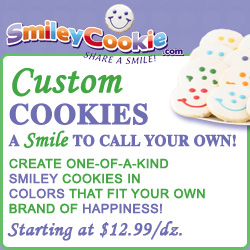Create Your Own Smiley Cookie
