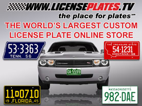 Create Your Custom Number License Plate in Minutes!
