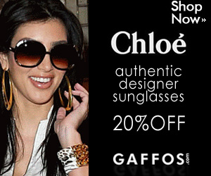 October Sale on Chloe Sunglasses -300x250