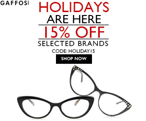 Holidays Are Here. 15% OFF on Selected Brands