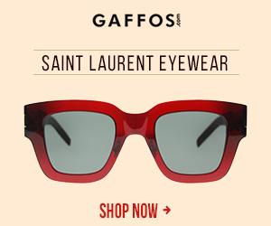 Saint Laurent Eyewear.