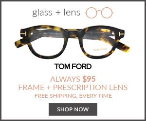 Designer Eyewear for $95