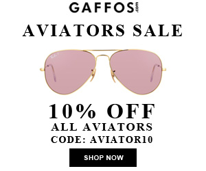 ALL Aviators SALE. Use Code: AVIATOR10 at Checkout and Get 10% OFF