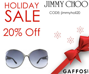 20% on Jimmy Choo Sunglasses