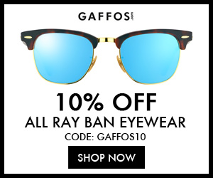 10% OFF For All Ray-Ban Eyewear