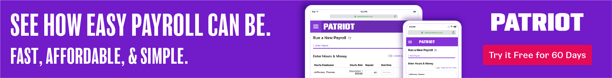 Patriot Affordable Payroll