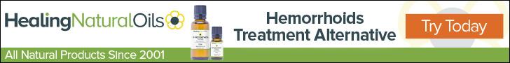 Treat Hemorrhoids & Bleeding Hemorrhoids Symptoms Naturally
