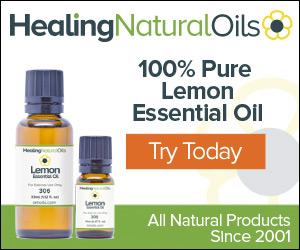 100% Pure Lemon Essential Oil