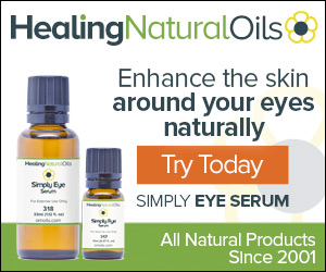 Just Pure Oils To Moisturize and Rejuvenate. Perfect for Dark Circles & Bags Under The Eyes