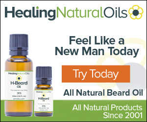 Soften your beard with All Natural Beard Oil Conditioner