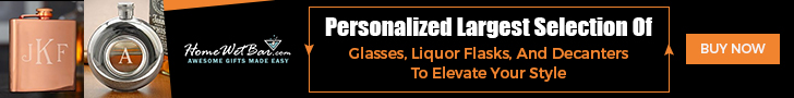 Personalized Largest Selection of  Glass Liqor Flasks And Decanters To Elevate Your Life Style