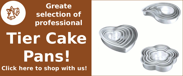 Professional Tier Cake Pans