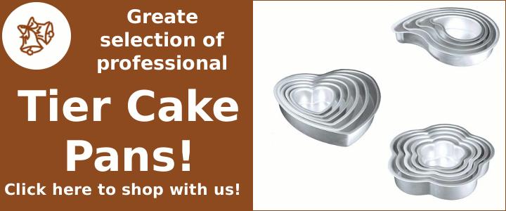 Professional Tier Cake Pans