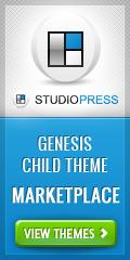 StudioPress Genesis Child Theme Marketplace