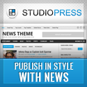 News Child Theme - Publish your content in style