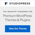 StudioPress Themes for WordPress using Genesis Framework!