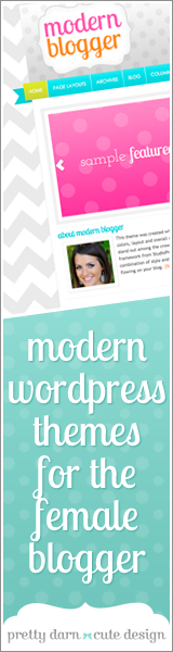 Pretty Darn Cute - Modern WordPress Themes for the Feminine Blogger