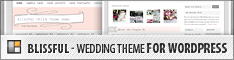 Blissful Theme - Wedding Theme for WordPress