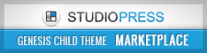 StudioPress Genesis Child Theme Marketplace