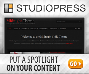 Midnight Theme - Put A Spotlight On Your Content