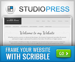 Scribble Theme - A Beautiful Frame For Your WordPress Website