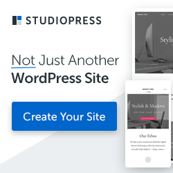 Learn about creating a StudioPress Site. Recommended by Sweetened Condensed Web Solutions.