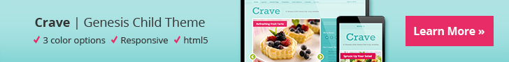 Crave WordPress Theme