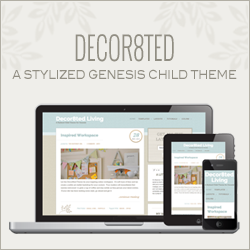 Decor8ted Theme - A soft and sophisticated WordPress theme