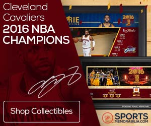 Shop for Cleveland Cavaliers 2016 NBA Champs Collectibles at SportsMemorabilia.com