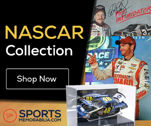 Shop for Thousands of Authentic Autographed NASCAR Collectibles at SportsMemorabilia.com