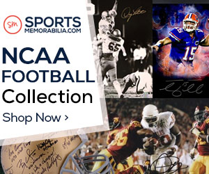 Shop for Thousands of Authentic Autographed College Football Collectibles at SportsMemorabilia.com