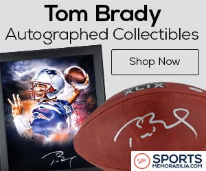Authentic Tom Brady Collectibles and Memorabilia at SportsMemorabilia.com