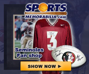 Shop for Authentic Autographed FSU Collectibles at SportsMemorabilia.com