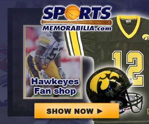 Shop for Authentic Autographed Hawkeyes Collectibles at SportsMemorabilia.com