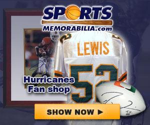 Shop for Authentic Autographed Miami Hurricanes Collectibles at SportsMemorabilia.com