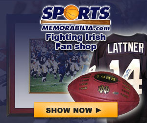 Shop for Authentic Autographed Notre Dame Collectibles at SportsMemorabilia.com